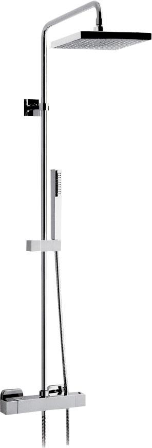 UNA sprchový sloup s termostatickou baterií, chrom ( UN57A2151 )