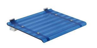 LEO sprchové sedátko 40x31cm, modrá ( 5368B )