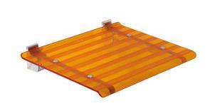 LEO sprchové sedátko 40x31cm, oranžová ( 5368A )